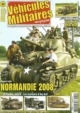 VEHICULES MILITAIRES N°22 RESTO. HALF-TRACK WHITE M2A1 / NORMANDIE 2008 / AMX 30