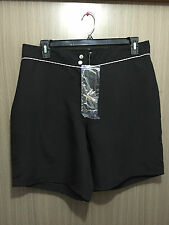BNWT Ladies Sz 18 Autograph Brand Smart Black Swim Board Shorts RRP $40