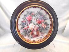 Franklin Mint Collector Plate, Magic Maker, Lena Liu, with Wood Frame