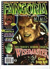 WoW! Fangoria #167 Wishmaster! Mimic! An American Werewolf In Paris! Godzilla!
