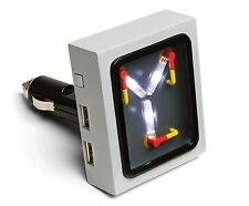 Back to the Future Flux Capacitor USB Car Charger - Compatible with anything via