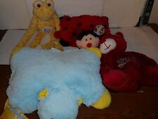 LOT OF 4 ASSORTED STUFFED ANIMALS BRAND NEW