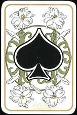 A5 Print – Vintage Playing Card Ace of Spades (Picture Poster Poker Art Holdem)