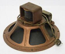 Zenith 49 208X 10'' Field Coil Jensen Speaker 1250 ohms 49208X vintage radio
