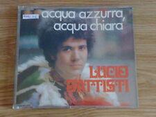 LUCIO BATTISTI - ACQUA AZZURRA ACQUA CHIARA - RARO CD SINGOLO COME NUOVO ( MINT)