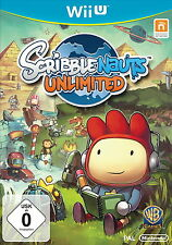Scribblenauts Unlimited (Nintendo Wii U, 2013, DVD-Box)