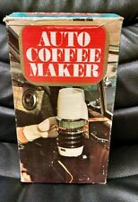 Vintage K Mart Auto Coffee Maker, Early Innovative Coffee Collectible, w/box!