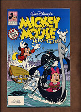 1990 Mickey Mouse Adventures #1 NM- First Print  Walt Disney Movie TV