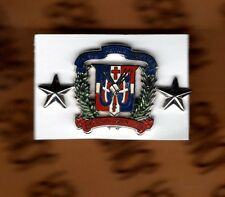 Dominican Republic Army Officer 2 STAR MAJOR GENERAL MG dress badge single