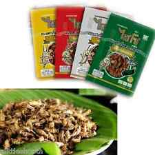 4 FLAVOR OF THAI FRIED CRISPY ACHETA EDIBLE INSECT BUG(ASSORTED LOCAL SNACK)