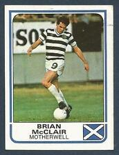 PANINI FOOTBALL 84-#433-MOTHERWELL-BRIAN McCLAIR