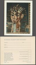 Unusual Vintage Polaroid Photo Egyptian King Tut Rug 259364