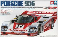 Tamiya 24309 1/24 Model Car Kit Canon Racing Porsche 956 GTi 1985 24Hr Le Mans
