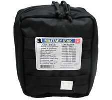 Elite 1st Aid -Military Individual First Aid Kit (IFAK) BLACK- MOLLE-Compatible