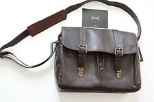 ONA Leather Brixton Camera and Laptop Messenger Bag - Dark Truffle  $439 NEW