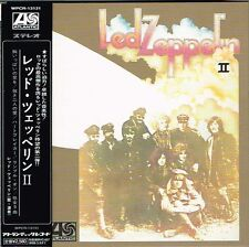 "Led Zeppelin ""Led Zeppelin II"" Japan Limited Mini-LP SHM-CD Paper Sleeve w/OBI"