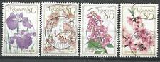 ˳˳ ҉ ˳˳PM-30 Japan Prefectural SON Postmark Flowers Recent set Japon