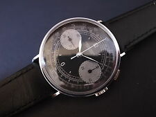 Vintage men's Leonidas chronograph manual wind Valjoux 22 fully restored great!!