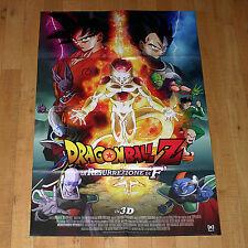 DRAGONBALL Z LA RESURREZIONE DI F manifesto poster Animazione Yamamuro Goku 2015