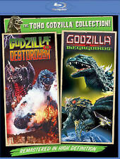 Godzilla Vs.Destoroyah/Godzilla Vs. Megaguirus [Blu-ray, Double Feat] Brand New!
