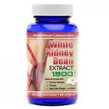 White Kidney Bean Extract w/ Garcinia Cambogia 1500mg Weight Loss Fat Burner NEW