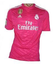 Real madrid camiseta 2014/15 rosa adidas L camisa jersey maillot camiseta maglia