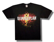 Damage Plan-(Pantera)-Fireball X-Large Black T-shirt