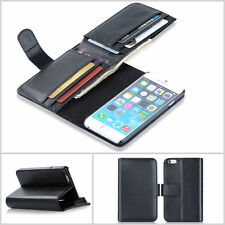 "New Card Holder Flip Wallet Leather Case Cover For Apple iPhone 6 Plus 5.5"" inch"