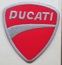 DUCATI Embroidered patch Iron on/Sew on MOTORCYCLE Racing