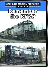 Remember the Richmond Fredericksburg and Potomac Railroad DVD RF&P video