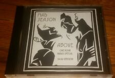 Mad Season ABOVE ultra rare RADIO PROGRAM SPECIAL original CD - Alice in Chains