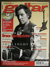 GUITAR MAGAZINE 2008/1 NR. 92 - BRUCE SPRINGSTEEN ARCH ENEMY SIGUR ROS INCL. CD