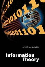 Information Theory by Jan C. A. Van der Lubbe (1997, Paperback)