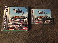 Matt Hoffmann Pro Bmx Gameboy Advance Game! Complete! Look At My Games!