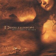 Disillusion-Back to Times of Splendor  CD NEW