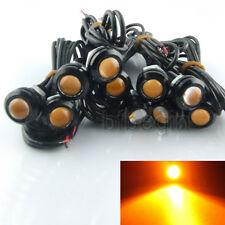 10x 9W LED Amber Car Motorcycle Eagle Eye Backup Light DRL Fog Driving Lamp New