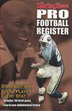 2000 SPORTING NEWS PRO FOOTBALL REGISTER EDDIE GEORGE OF THE TITANS ON COVER