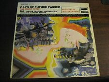 THE MOODY BLUES- Days Of Future Passed LP-w/Lyric Sleeve-1967 DES18012 DERAM