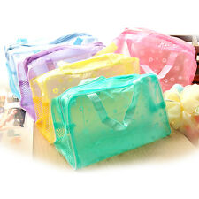 Women Convenient Makeup Cosmetic Travelling Washing Transparent Pouches Bags