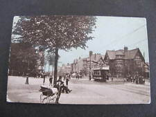 Hill Top London Road Leicester UK Postcard Tram etc