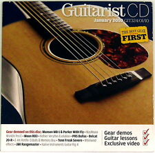 Guitarist CD January 2010 CD ONLY Washburn Moon RD3 Whirlwind pedals Blues EVH