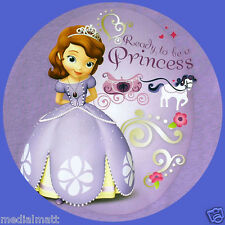 Non Personalised Princess Sofia 37mm 35x Birthday Stickers Party Thank You for..