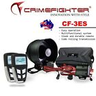 New CRIMEFIGHTER CF-3 LCD Remote 1 Way Car Alarm System Remote Start