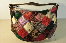 LUCKY BRAND Canvas Patchwork  Shoulder Bag HandBag