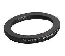 46mm to 37mm 46-37 Stepping Step Down Filter Ring Adapter 46-37mm 46mm-37mm M-F