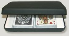 NEW Luxury playing card cartridge Piatnik black empty sleeve clip elegant deck