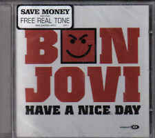 Bon Jovi-Have A Nice Day cd maxi single incl video Sealed