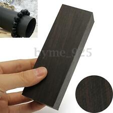 12x4x2.5cm DIY Ebony Lumber Gabon Handle Blank For Musical Instruments Black