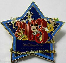 Disney WDW Cast Exclusive Stars Behind the Magic Mickey Mouse Tinker Bell Pin