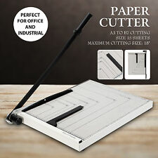 """18"""" Paper Cutter Guillotine Metal Base A3 Trimmer Scrap Booking Home Office"""
